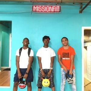 Corey, Zyon and Micah
